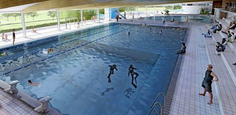 Centre nautique de blois des surprises surprenantes for Piscine romorantin