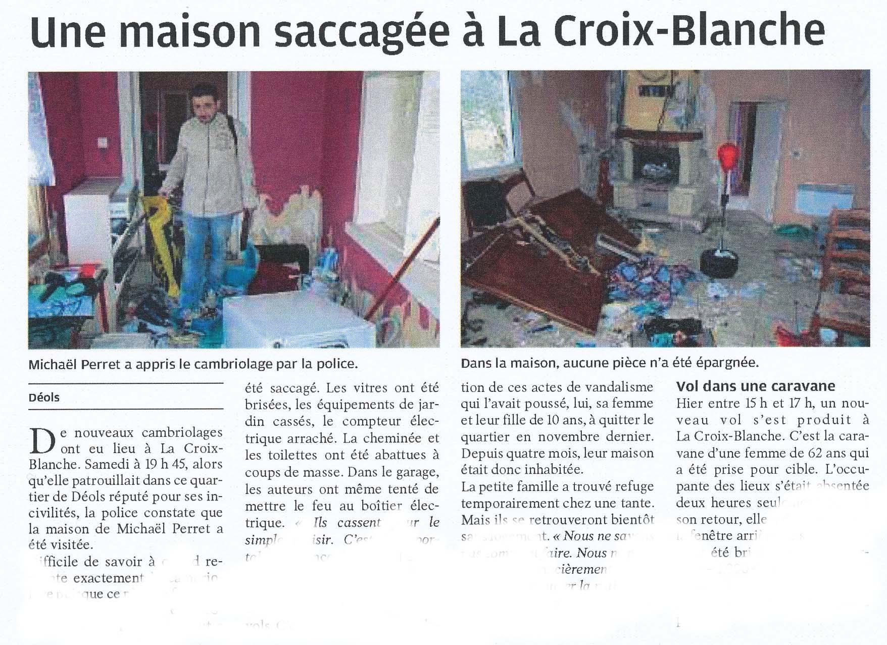 Front national du loir et cher archives des cat gories d linquance - Le bureau croix blanche ...
