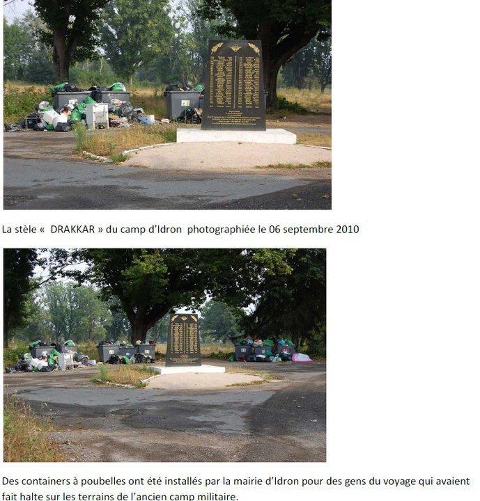 Les paras fran ais morts beyrouth renvoy s aux poubelles for Bureau 64 idron