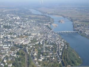 Vue aèrienne Blois