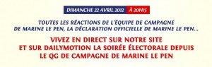 Dimanche 22 avril : soirée électorale à Blois dans Loir et Cher QG-marine-300x95