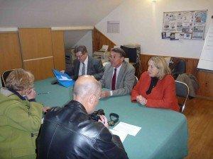 Michel Guiniot et Joëlle Mélin à Blois dans Loir et Cher conference-de-presse-Blois-MG-JM-MC-300x225