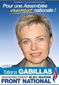 2ème tour : les consignes de Tatiana Gabillas dans Législatives 2012 Affiche-Tatiana-207x300