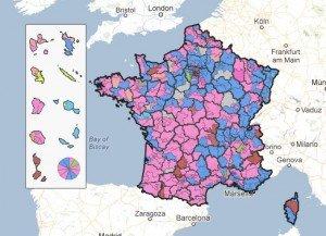 Législatives : tous les résultats nationaux sur une carte interactive dans Législatives 2012 Google-Maps-legislatives-300x217