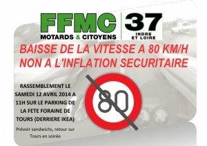 manif FFMC Tours-Blois