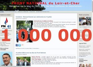 1 million de visiteurs