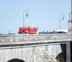 Pompiers pont Jacques Gabriel