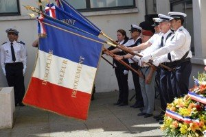 Drapeau Police nationale