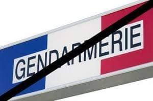 Gendarmerie en deuil