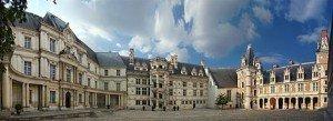 Vue panoramique chateau de Blois