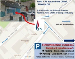 plan d'accès FN41