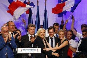 Philippe Loiseau et Marine le Pen