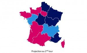 Projection régionales 2015 second tour