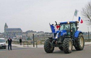 manif agriculteurs Blois_1