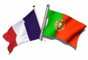 drapeaux France-Portugal