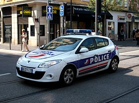Sérigraphie voiture Police Nationale