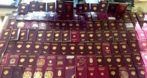 passeports falsifiés