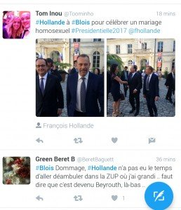 Capture Twitter visite Hollande