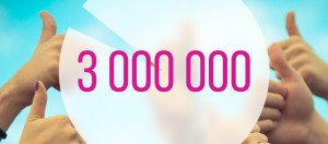3 millions