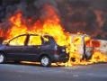 Onze voitures brûlées à Saint Sulpice de Pommeray.