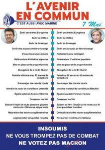 Mélenchon vs marine