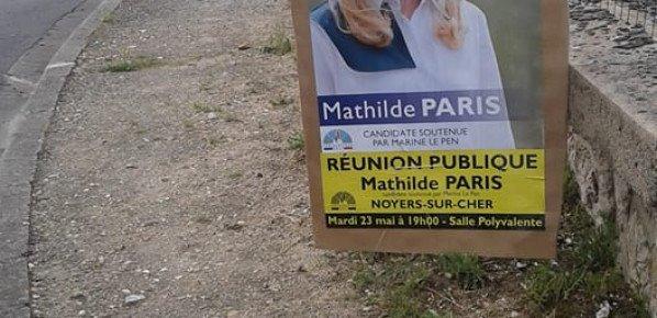 Réunion publique mardi 23 avec Philippe Loiseau et Mathilde Paris.