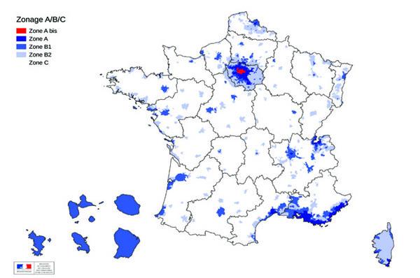 Plan logement les zones rurales p nalis es front for Zone pour ptz