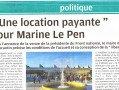 Marine Le Pen à Romorantin : merci pour cette polémique !