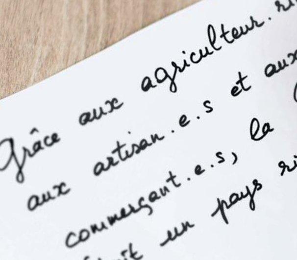 Ecriture Inclusive Le Premier Ministre Donne Raison Au