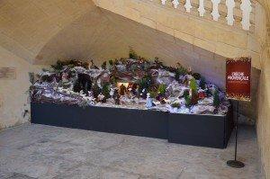 crèche Noël Beaucaire