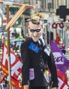 Manif Blois Macron