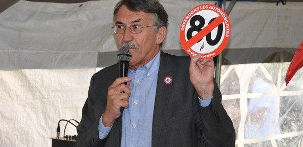 80 km/h : signez la pétition !
