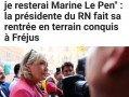 Fréjus : Marine Le Pen plus offensive que jamais devant une foule enthousiaste.