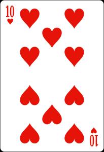 10 de coeur