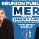 Européennes 2019 : Marine LE PEN, Jordan BARDELLA et Nicolas BAY à Mer Samedi 13 Avril.
